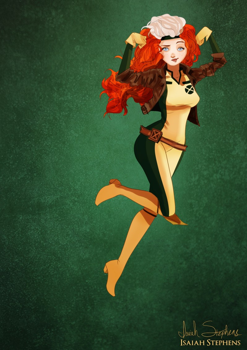 tumblr mujct37cFK1r88lcmo9 r1 1280 - Disney princesses dress up as their favorite heroines
