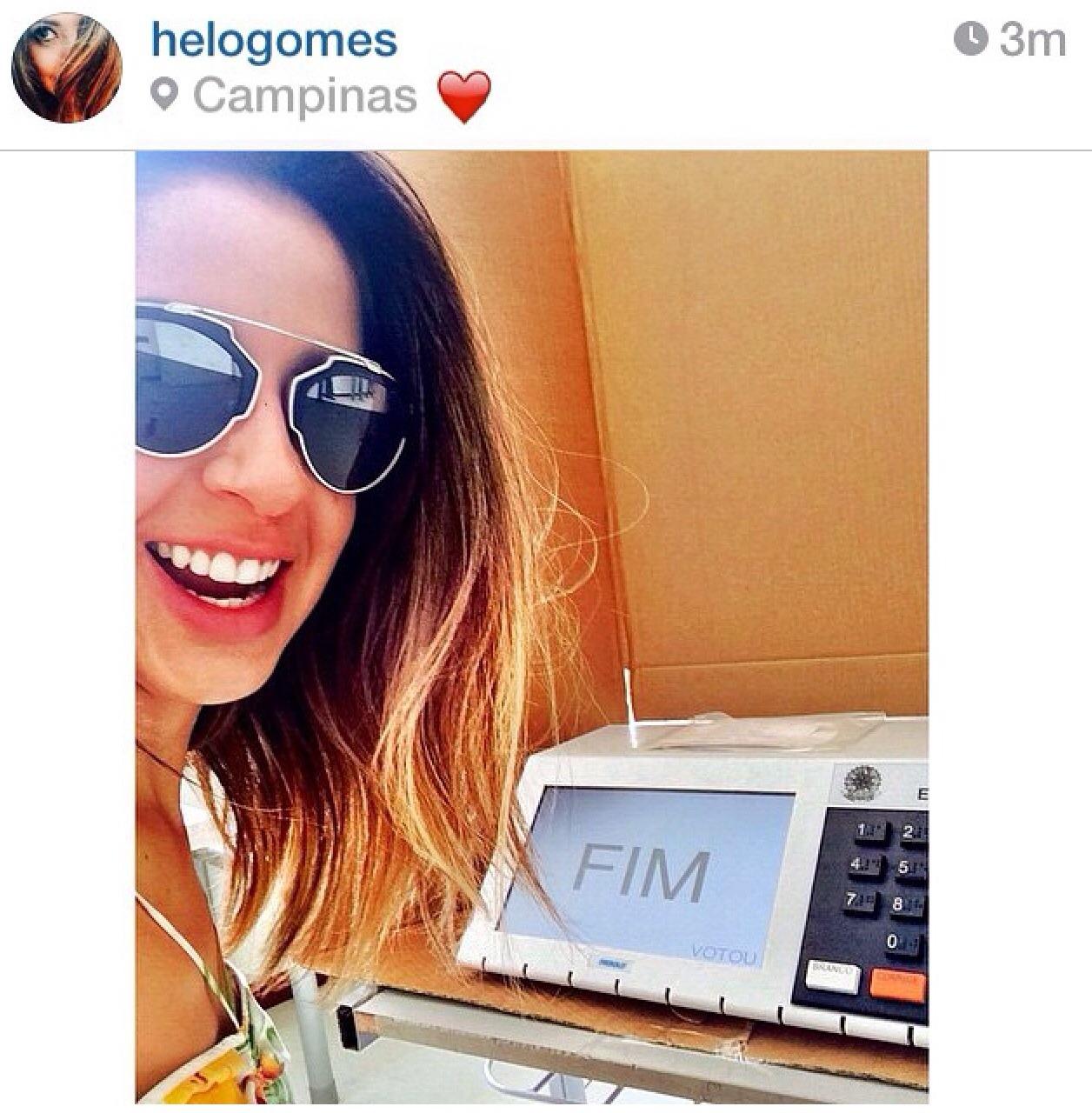 A blogueira (?) de moda Helô Gomes mostrou toda sua indignação e corre o risco de fazer look do dia na Delegacia…