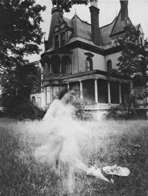 We're at End House.<br /> Waiting for our party.<br /> The party supposedly thrown for us.<br /> Where is everyone?<br /> Is that a ghost?<br /> Let us out!