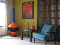 Mid-Century Modern Freak | Freestanding Fireplace Malm ...