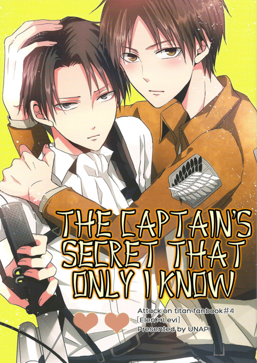 Shingeki No Kyojin Dj : shingeki, kyojin, Shingeki, Kyojin, Captain's, Secret, [ENG], Doujinshi, Otaku, Forum:, Forums