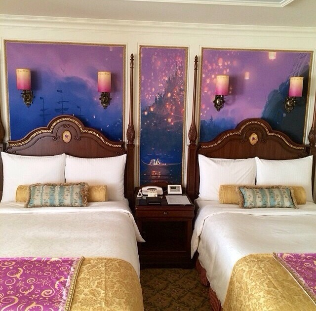 tangled disney princess Tokyo Disneyland Hotel bellesvillage