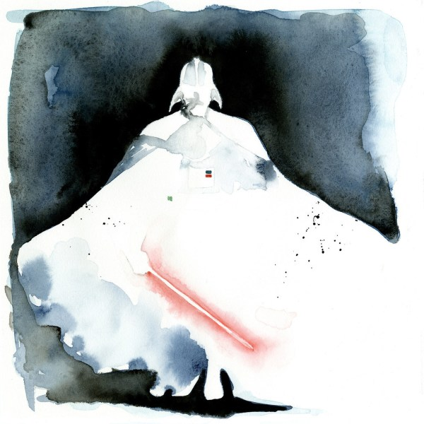 Geek Art Paintings Star Wars Watercolors