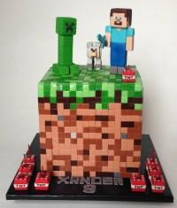 Geek Art Gallery: Sweets: Minecraft Cake