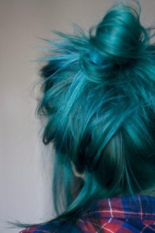 cute dyed hair hair