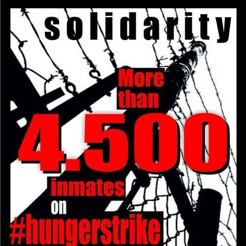 Greece DAY 4 - 4,500 in greek prisons on hunger strike against conditions & high security prisons.