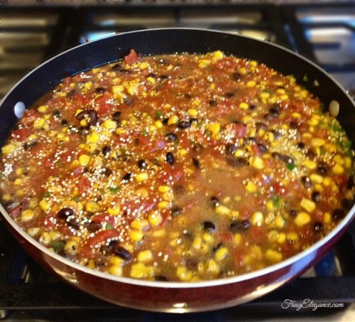 Mexican Style Quinoa Recipe by FrugElegance