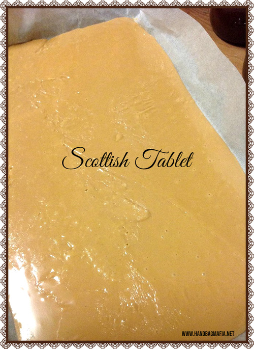 thermomix scottish tablet fudge
