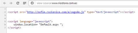 código fuente Riostore