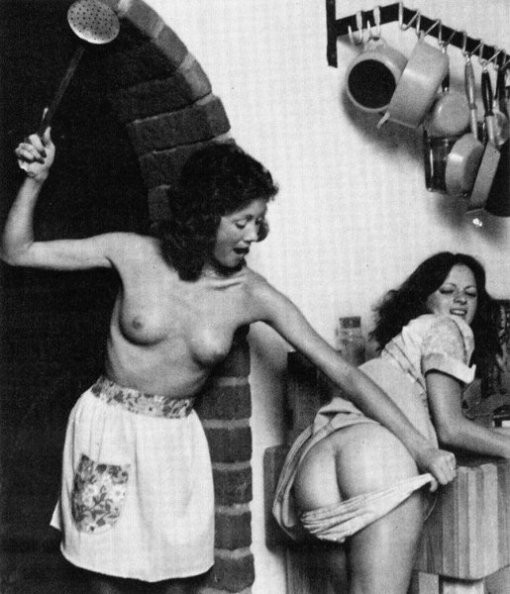 The moral: Don't piss off the cook. That scullery maid won't be sitting for a week.