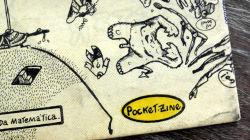 Um outro detalha da capa: um Pocket Zine!