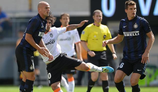 INTER-VALENCIA 0-4: Cambiasso e Andreolli non hanno brillato