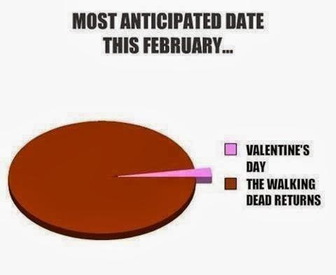 valentine's day walking dead