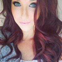 Burgundy Hair Color Highlights For 2014-2015 - Hairstyles ...