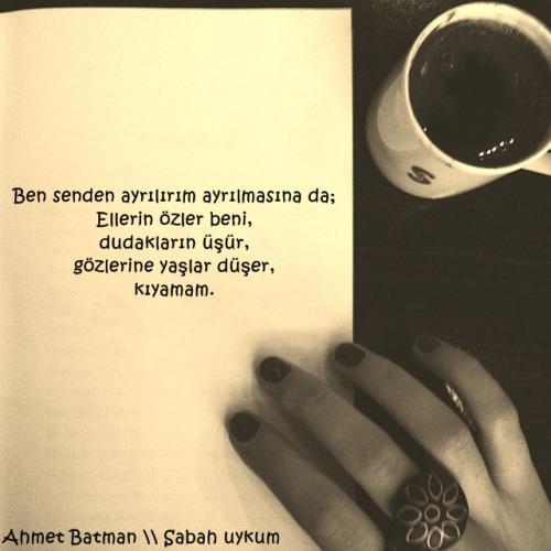 Ahmet Batman Sabah uykum