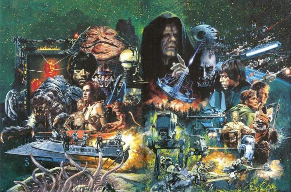 Star Wars Return of the Jedi Art