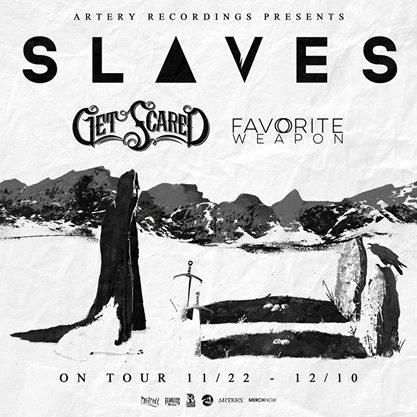 slaves announce headlining tour