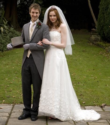 Amy Pond and Rory Williams  Wedding Day Dreams