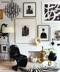 @loftster - House and Home {black and white eclectic...