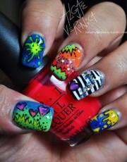 won nicki minaj nails 4 life