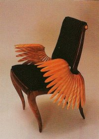 Cool beautiful weird style design furniture chair Wings ...