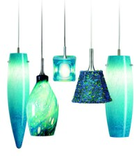 Hues of Turquoise (Nora Turquoise Pendant Light Fixtures)