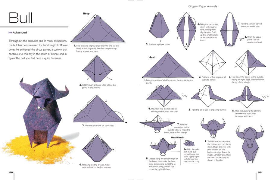 intermediate origami dragon diagram communication flow business instructions