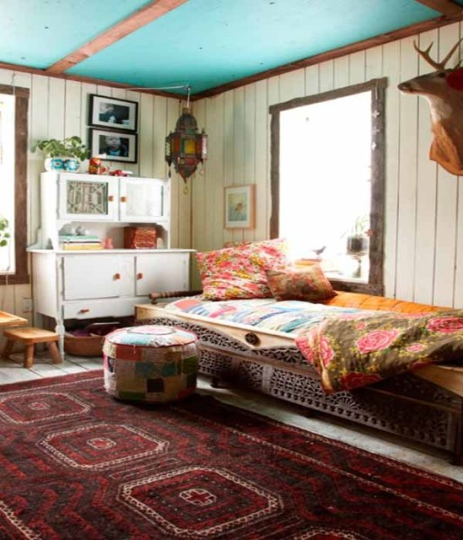 turquoise bohemian bedroom ideas ThatBohemianGirl - My Bohemian Home ~ Bedrooms and Guest Rooms