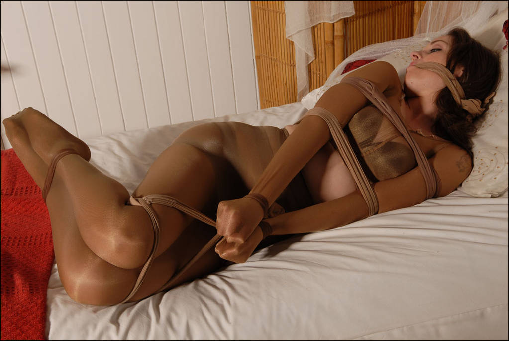 Nylon bondage tumblr