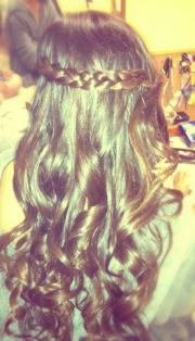 pin prom hairstyle