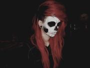 skeleton makeup