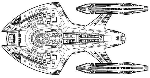 Starfleet ships • Nova-class schematics