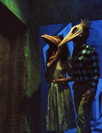beetlejuice, maitlands, masks, 90s horror, 90's Halloween costumes