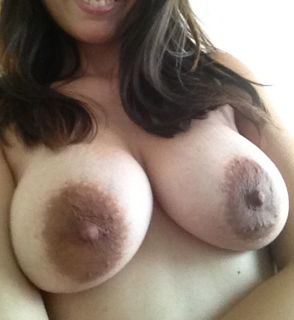 dark black nipples