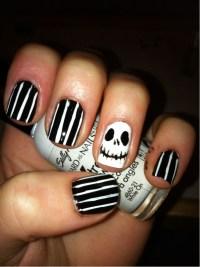 Jack Skellington :) - Prettiest Nails