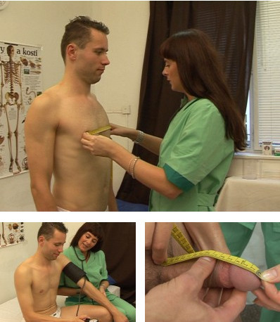 nurse exam erection