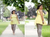 Yellow Baby Shower Dresses