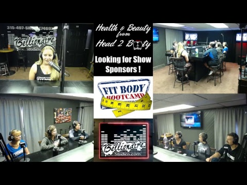 Health and Beauty from Head 2 Booty (Fit Body Boot Camp) LIVE Show from Bellionaire Studios