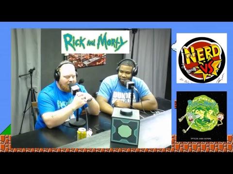 NERD VS RICK & MORTY