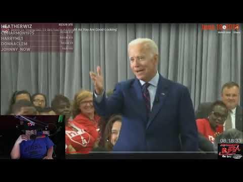 Bubba talks about Joe Biden being creepy