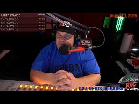Bubba takes callers from 98 rock in Charleston