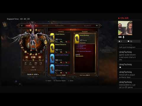 Makenzi and Jarrett play Diablo