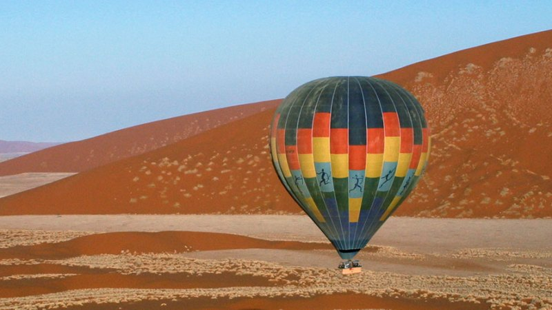 Hot Air Ballooning over Dunes of the Sossusvlei
