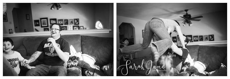 Maine Black and White documentary Family photography