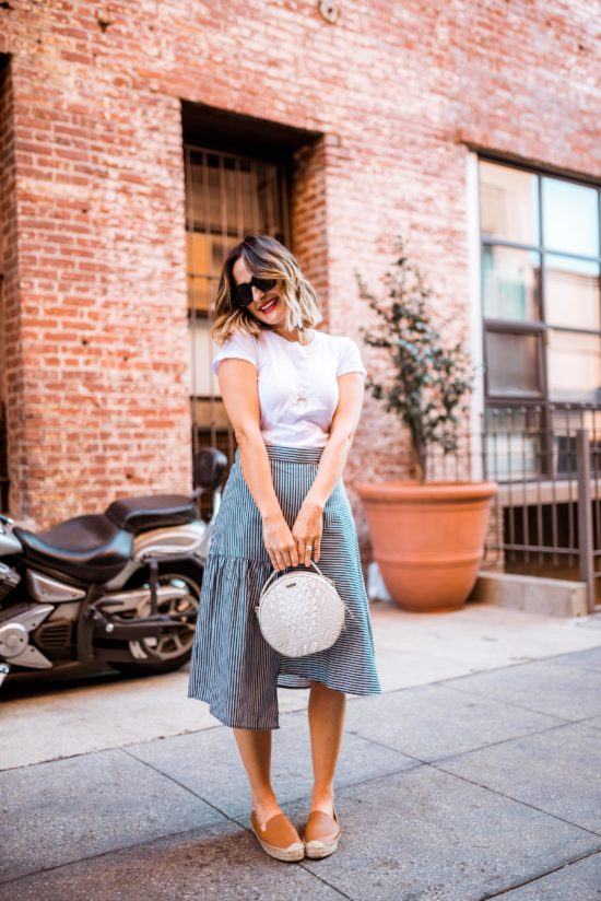 Midi Skirts for Spring | Charmed by Camille