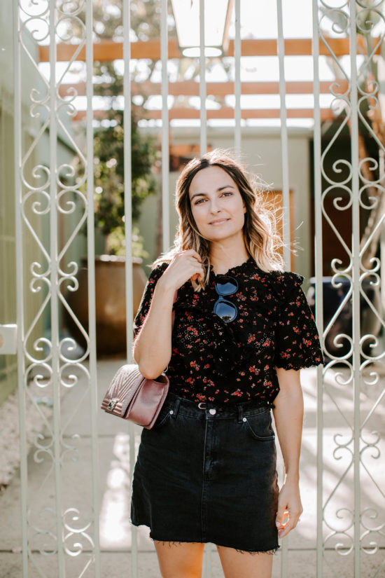 Fall Floral | Charmed by Camille