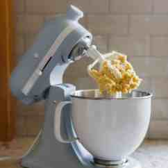 Red Kitchen Aid Mixer And Dining Room Chairs Butter Cookies With Orange & Chocolate Ganache | Sally's ...