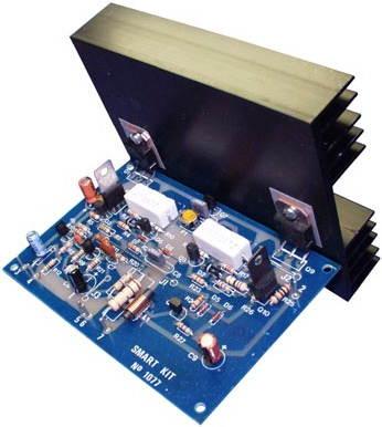 100 W Inverter Circuit Diagram 100w Darlington Transistor Amplifier Circuit With Bdw83d