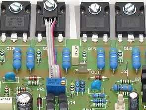 FET400 Mosfet Amplifier Circuit 400W  Electronics