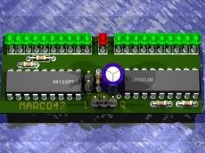 VU Meter Circuits LM3914 LM3915 PCB  Electronics Projects Circuits